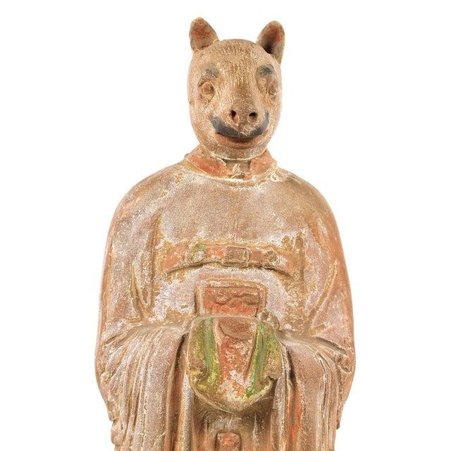 Antique Chinese Zodiac Rat Figurine - Image 7 of 9