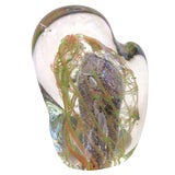 """Image of """"Sasso"""" Murano Glass Sculpture by Salviati For Sale"""