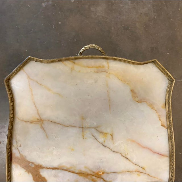 19th Century French Louis XVI Marble Top End Table For Sale - Image 12 of 13