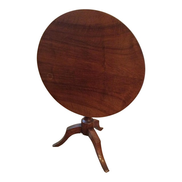Antique Tilt Top Table, France - Image 1 of 6
