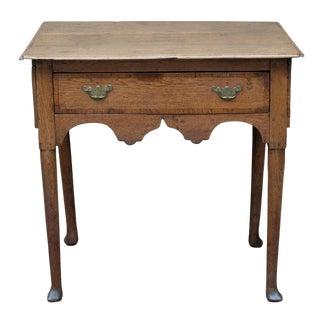 George I Lowboy/Side Table For Sale
