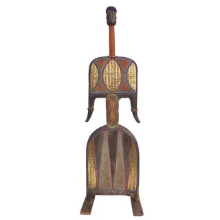 """African Art Life Size Namji Doll Cameroon 55.5""""h For Sale"""