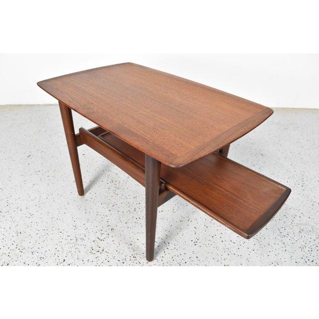 Bramin Møbler Refinished Teak Side/End Table - Image 2 of 5