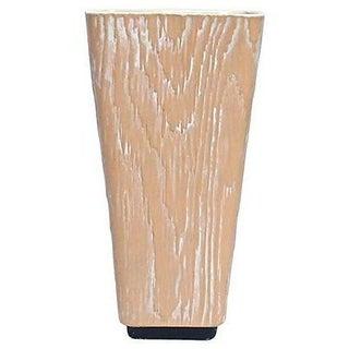 Mid-Century Modern Shawnee Faux Bois Vase For Sale