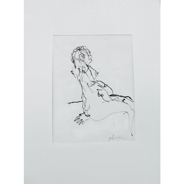 Femme Enceinte Original Drawing - Image 1 of 4