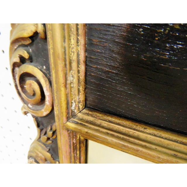 Antique Regency Style Trumeau Mirror For Sale - Image 11 of 13