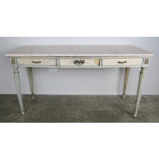 19th Century French Neoclassical Style Painted Desk/Writing Table Preview