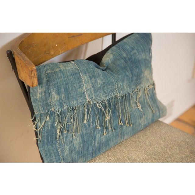 African Indigo Handmade Pillow - Image 3 of 4