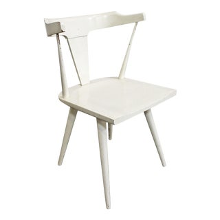 Mid-Century Modern Paul McCobb Planner Group Winchendon White Desk Side Chair For Sale