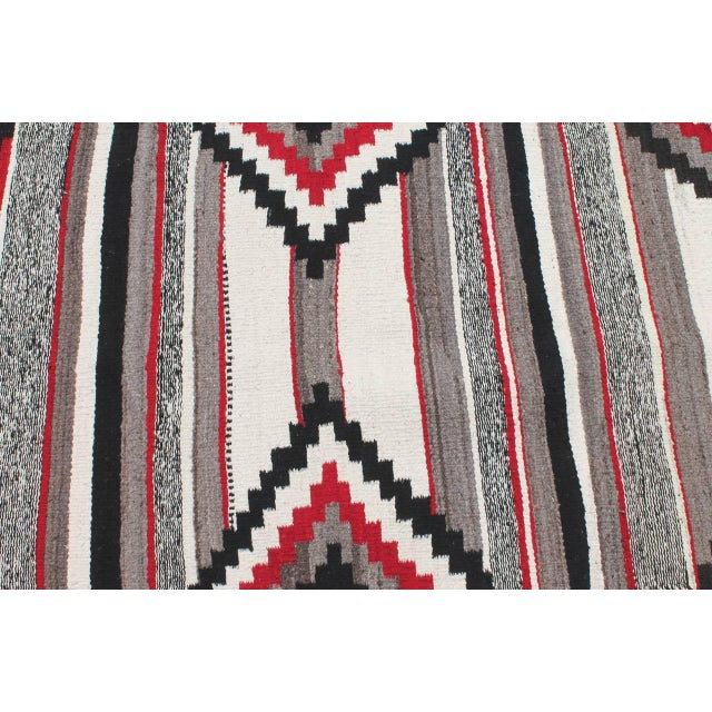 Native American Third Phase Old Style Granado Navajo Weaving For Sale - Image 3 of 5