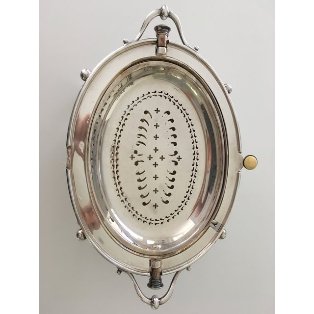 William Hutton & Sons Domed Silver Warming Dish - Image 7 of 10