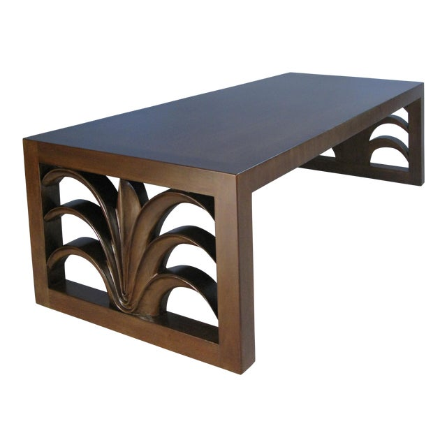 Palm Leaf Cocktail Table by Robsjohn-Gibbings for Widdicomb For Sale
