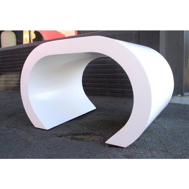 White Scroll Coffee Table or Side Table - Image 6 of 8