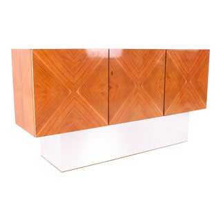 1960s Milo Baughman for Thayer Coggin Rosewood Floating Credenza For Sale