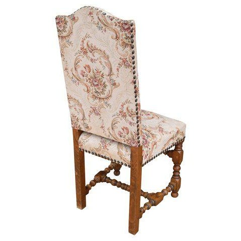 Early 20th Century Louis XIII Style Dining Chairs - Set of 12 For Sale - Image 4 of 8