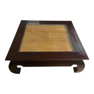 Ming Style Coffee Table For Sale
