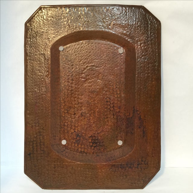 Vintage Mission Hammered Copper Tray - Image 3 of 5