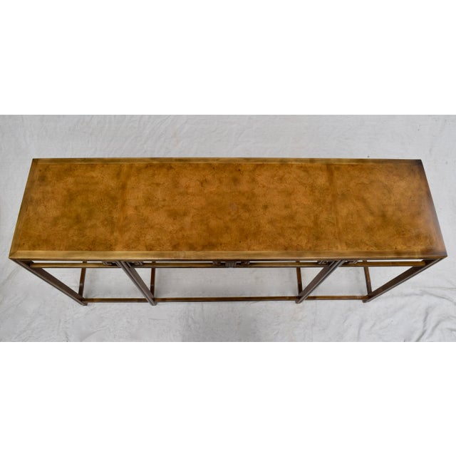 """Asian Baker Burlwood Console Table, """"Far East"""" Collection"""" For Sale - Image 3 of 13"""