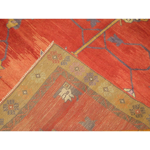 Vintage Hand Knotted Tribal Rug - 4′ × 7′1″ For Sale In Atlanta - Image 6 of 7