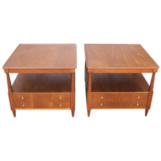 Pair of Tables by John Widdicomb For Sale