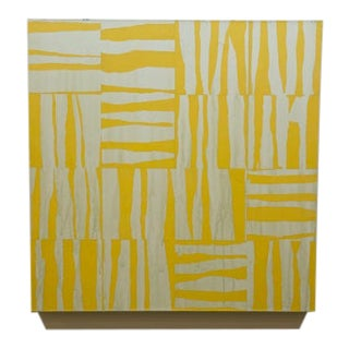 Contemporary Modernist Animal Print Inspired Acrylic Painting For Sale