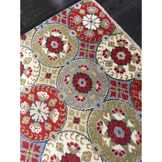 "Bellwether Rugs Vintage Turkish Zeki Muren Rug - 5'9""x9'4"" - Image 8 of 9"