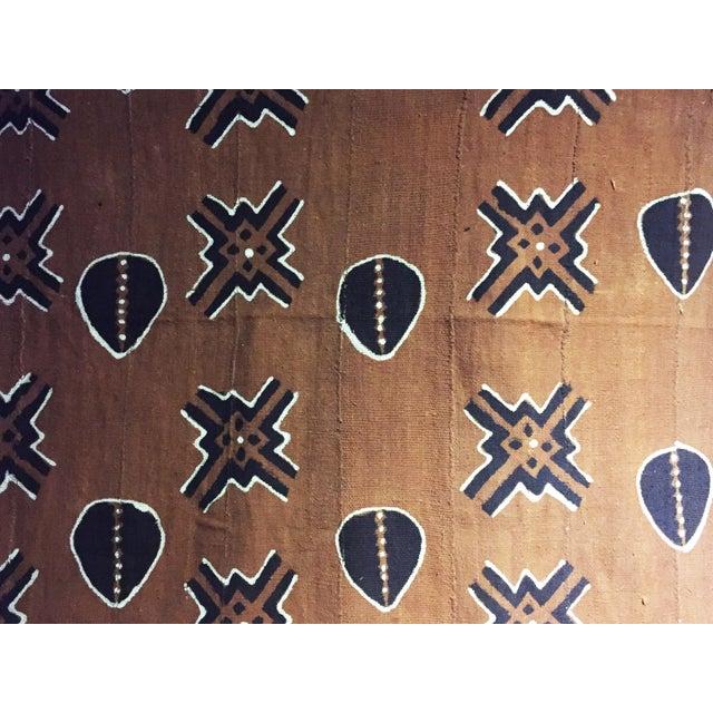 Bogolan Mali Mud Cloth Textile For Sale - Image 9 of 11