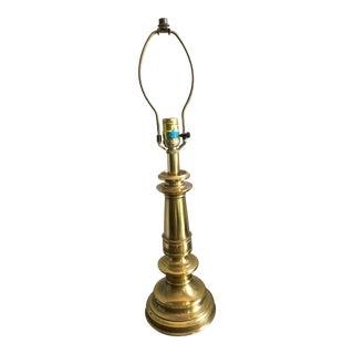 1970s Mid Century Modern Stiffel Brass Lamp For Sale
