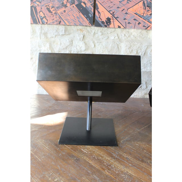 "Stephane Ducatteau ""Fauteuils Cadre"" Steel Framed Chair For Sale In San Francisco - Image 6 of 8"