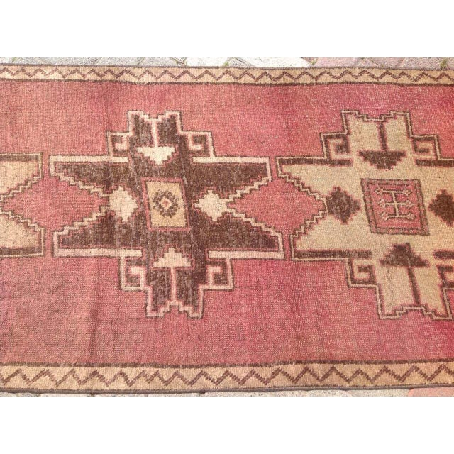 Vintage Hand Knotted Anatolian Runner For Sale - Image 4 of 8
