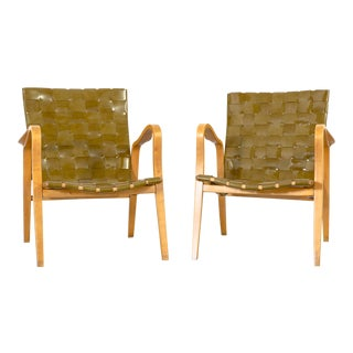 Set of Gustav Axel Berg Armchairs For Sale