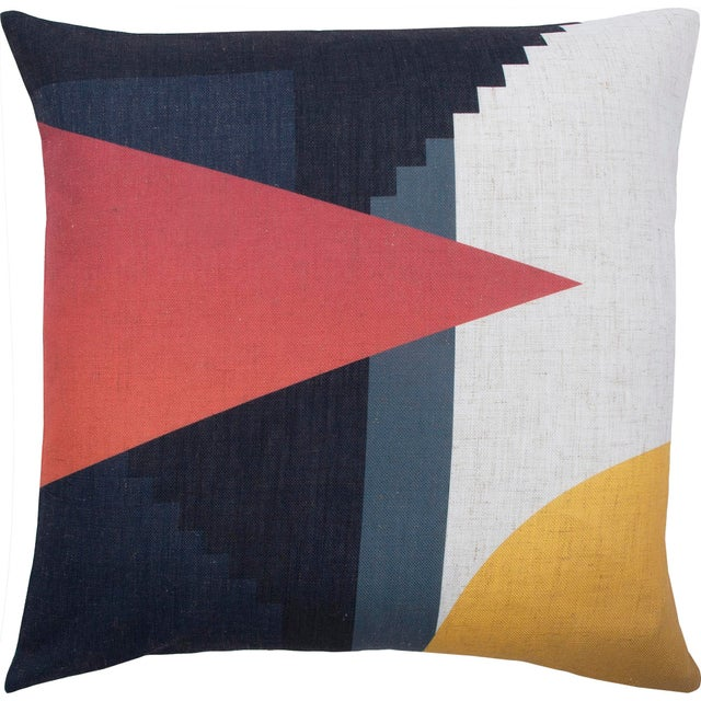 Parma Single-Sided Printed Decorative Pillow For Sale - Image 4 of 4