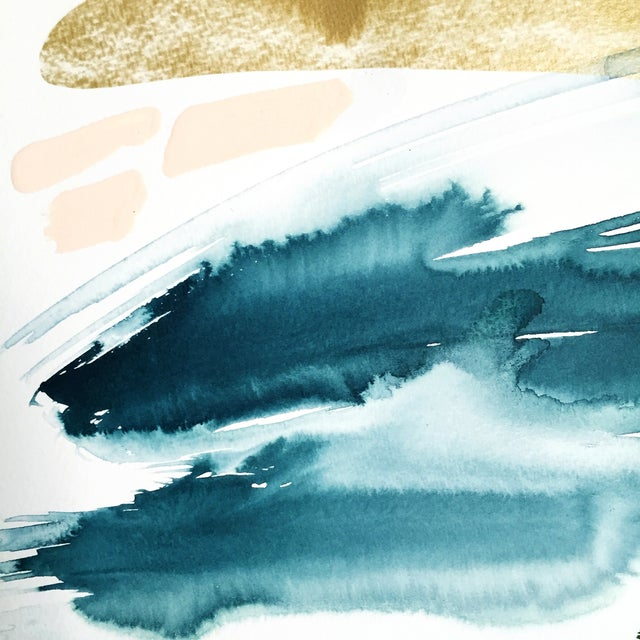 "Beth Winterburn Abstract - ""Adventuring"" - Image 3 of 3"