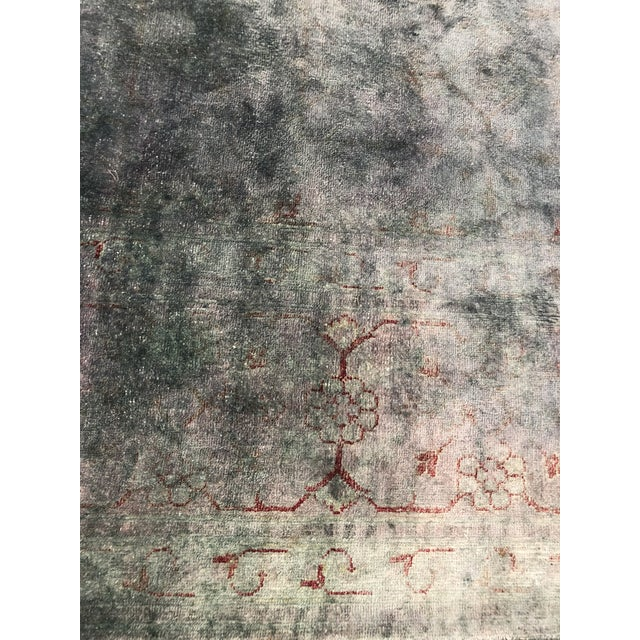 "Abc Home & Carpet Silk Overdyed Rug - 10'7"" X 7'3"" For Sale In New York - Image 6 of 10"