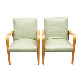 """Mid Century Lounge Chairs by """"Thonet""""- A Pair For Sale"""