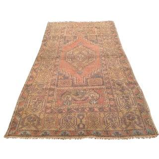 Vintage Anatolian Rug - 3′4″ × 6′1″ For Sale