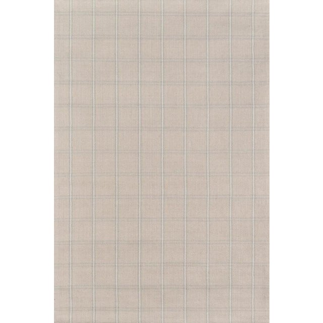 2010s Erin Gates Marlborough Dover Beige Hand Woven Wool Area Rug 2' X 3' For Sale - Image 5 of 5