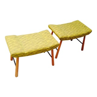 Danish Pair of Brutal Benches in Good Vintage Condition For Sale