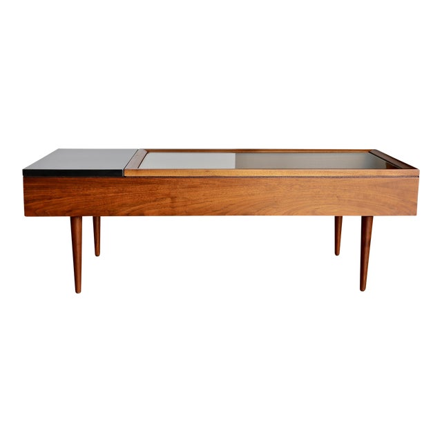 Mid Century Rose Wood Side Table Or Small Coffee Table For: High-End Mid Century Stewart MacDougall For Glenn Of