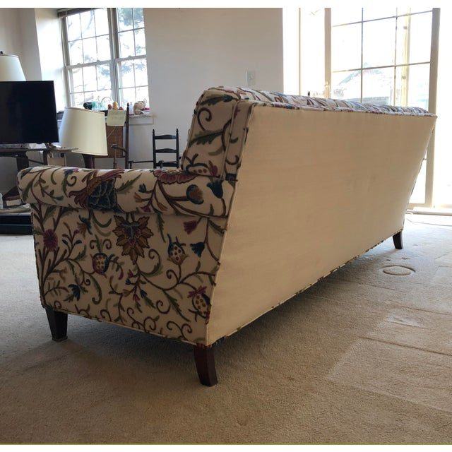 Teal Vintage Mid-Century Sofa For Sale - Image 8 of 10