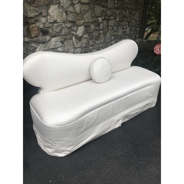 Century Furniture Century Furniture Curvy Settee or Love Seat For Sale - Image 4 of 11