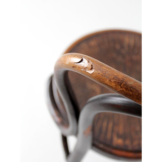 Antique Jacob & Josef Kohn Bentwood Chair For Sale - Image 9 of 12