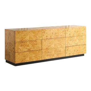 Olive Burl Dresser by Dillingham Furniture For Sale