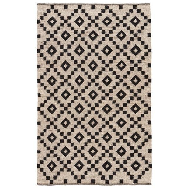Jaipur Living Croix Handmade Geometric Black/ White Area Rug - 9′ × 12′ For Sale In Atlanta - Image 6 of 6