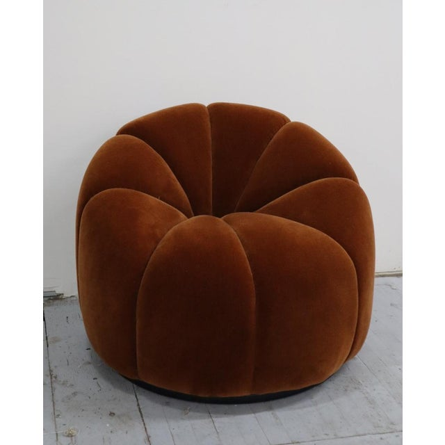 2020s Mid Century Design Lotus Chair For Sale - Image 5 of 6