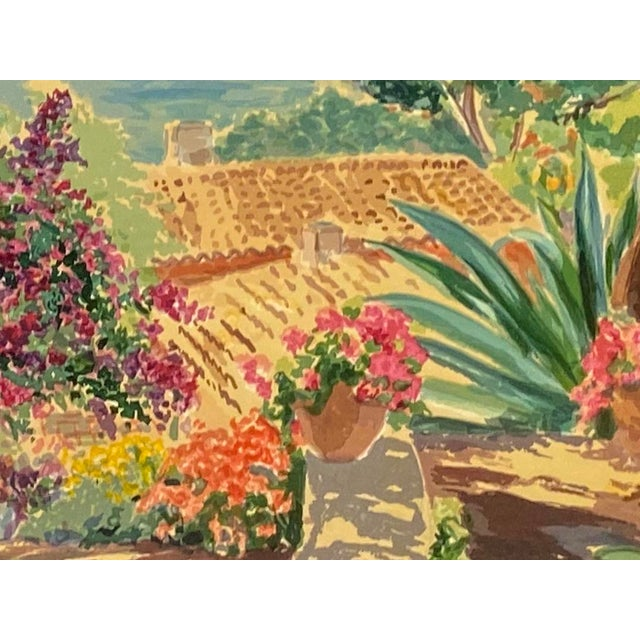 """""""Garden by the Sea II"""" Framed Print by Carlton Penny For Sale - Image 9 of 11"""