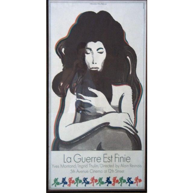 Milton Glaser La Guerre Est Finie Lithograph - Image 1 of 2