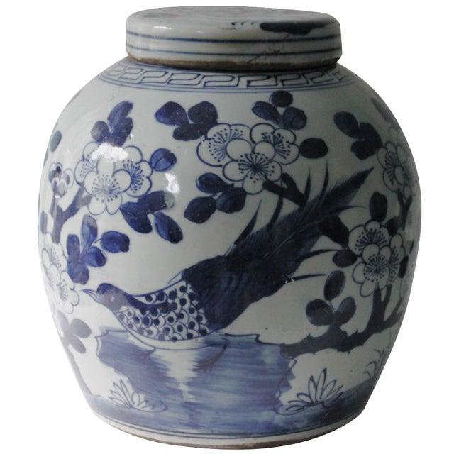 Chinoiserie Cherry Blossom Ginger Jar - Image 1 of 6