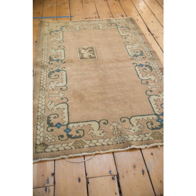"""1930s Vintage Chinese Rug - 3' X 4'10"""" For Sale - Image 5 of 10"""