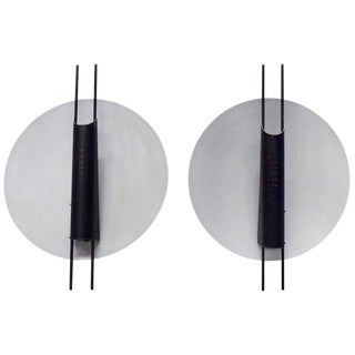 Koch and Lowy Copernicus Modernist Forms Wall Sconces - a Pair For Sale